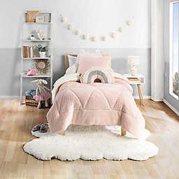 UGG® Casey 3-Piece Full/Queen Comforter Set in Pink