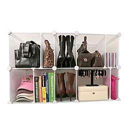 Luxury Living Park-a-Purse Modular Organizer in Clear