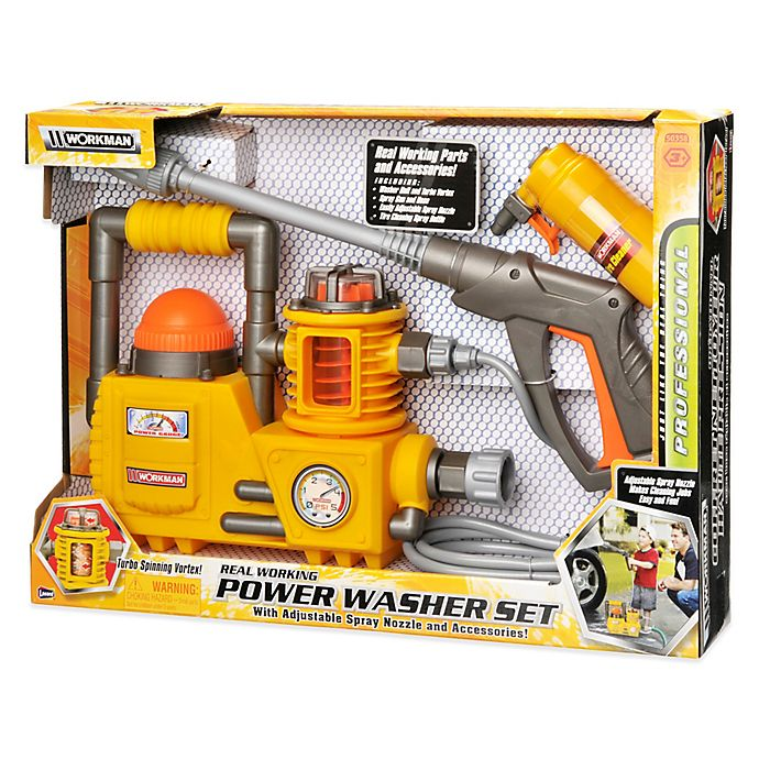 Alternate image 1 for Workman Power Tools Power Washer Toy