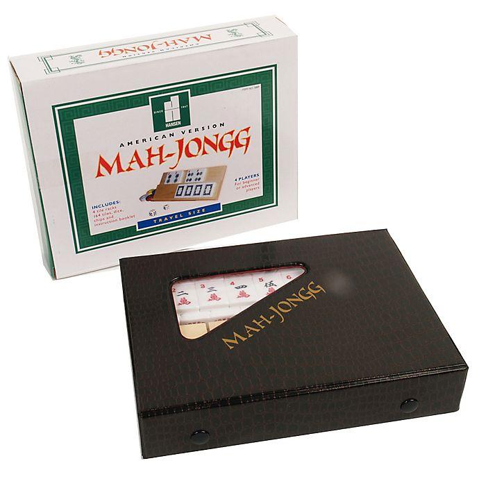 Alternate image 1 for Mah Jongg Travel Tile Game Set