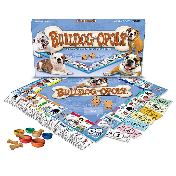 Alternate image 1 for Bulldog-opoly