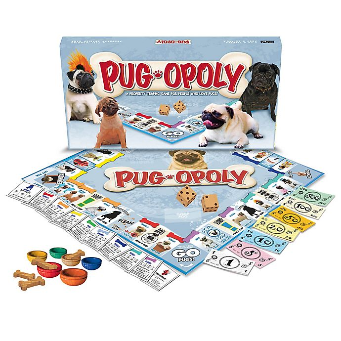 Alternate image 1 for Pug-opoly