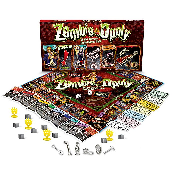 Alternate image 1 for Zombie-opoly