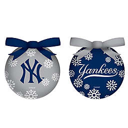 MLB LED Lighted Christmas Ornament Set (Set of 6)