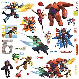 Disney® Big Hero 6 Wall Graphix Peel and Stick Giant Wall Decals