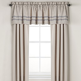 Wamsutta® Tapestry 84-Inch Window Curtain Panel Pair in Beige