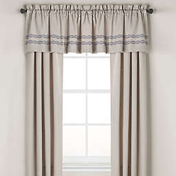 Wamsutta® Tapestry Window Curtain Panel Pair and Valance