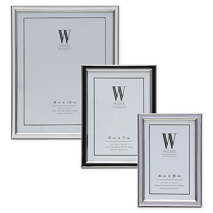Alternate image 1 for W Home™ Enamel Picture Frame