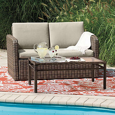 Mason Wicker 2-Piece Loveseat Set