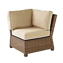Crosley Bradenton Wicker Corner Chair