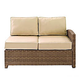 Crosley Bradenton Wicker Right Corner Loveseat