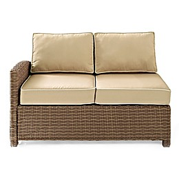 Crosley Bradenton Wicker Left Corner Loveseat