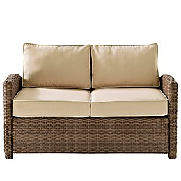 Crosley Bradenton Wicker Loveseat