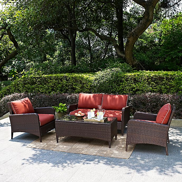 Alternate image 1 for Crosley Kiawah Patio Furniture Collection