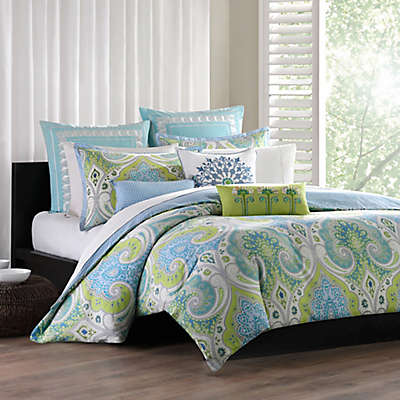Echo ™ Sardinia Reversible Duvet Cover Set