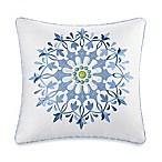 Echo™ Sardinia Embroidered Square Throw Pillow in White