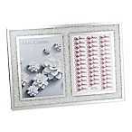 Oleg Cassini Crystal Diamond 2-Opening Picture Frame