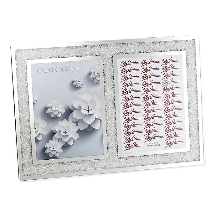 Oleg Cassini Crystal Diamond 2 Opening Picture Frame Bed Bath Beyond
