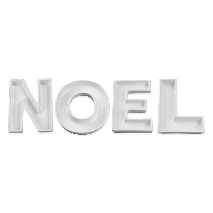 Alternate image 1 for Ivy Lane Design NOEL Ceramic Candy Dish Set