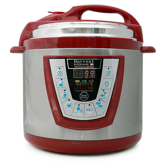 Alternate image 1 for Pressure Pro 6-Quart Electric Pressure Cooker in Red
