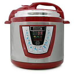 Pressure Pro 6-Quart Electric Pressure Cooker in Red