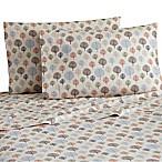 Micro Flannel® Printed Trees King Sheet Set in Brown