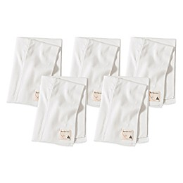 Burt's Bees Baby® 5-Pack Organic Cotton Burp Cloths in Cloud