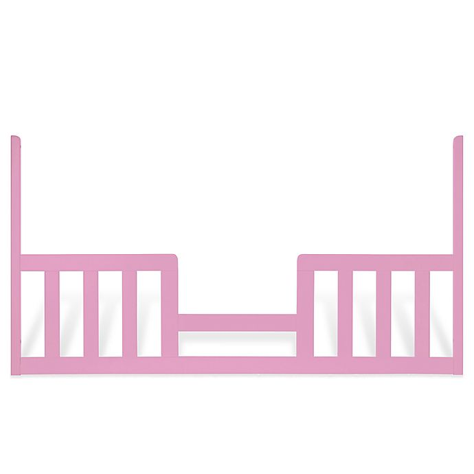 Alternate image 1 for Child Craft™ Toddler Guard Rail for London Euro Style 3-in-1 Convertible Crib in Pink