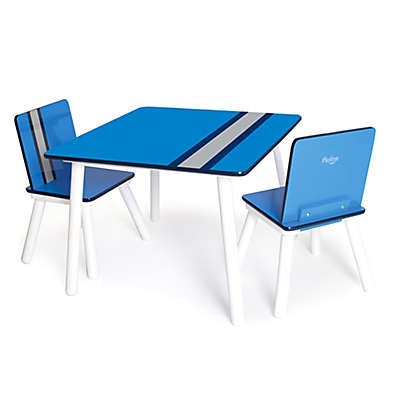 P'kolino® Classically Cool Table and Chairs in Racing Stripe