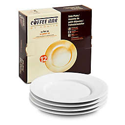 Coffee Bar by Konitz No. 12 Side Plates in White (Set of 4)