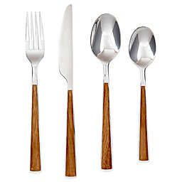 Cambridge® Esben Beachwood 16-Piece Flatware Set