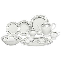 Lorren Home Trends Verona 57-Piece Dinnerware Set