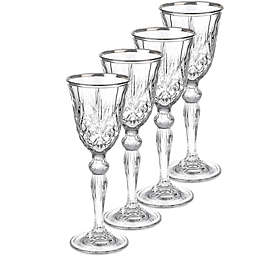 Lorren Home Trends Reagan Cordial Glasses (Set of 4)