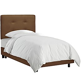 Tufted Bed in Premier Chocolate