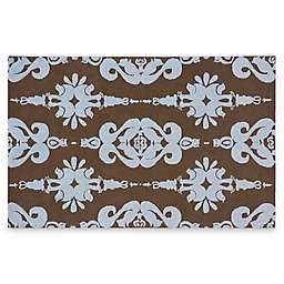 Momeni 'Lil Mo 2-Foot x 3-Foot Classic Toys Area Rug in Baby Blue