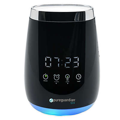 PureGuardian® Spa260 Ultrasonic Aromatherapy Oil Diffuser with Touch Controls & Alarm Clock