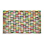 18-Inch x 30-Inch Recycled Flip Flop Door Mat