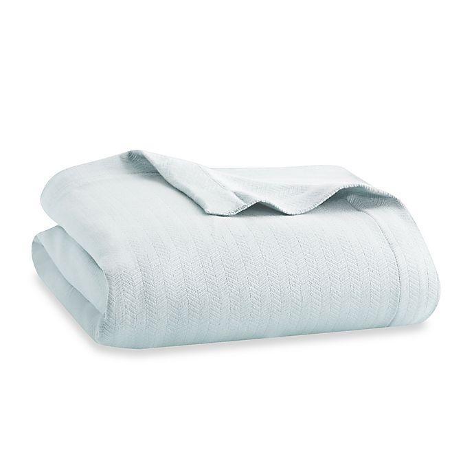 Alternate image 1 for Wamsutta® Dream Zone® MICRO COTTON® Full/Queen Blanket in Light Blue