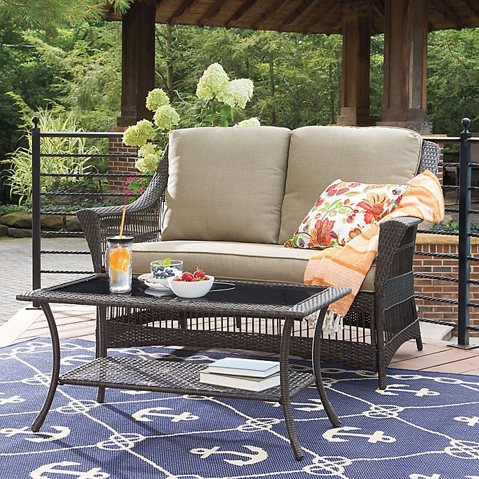 Outdoor Patio Furniture Savannah Ga: Savannah Wicker Patio Furniture Collection