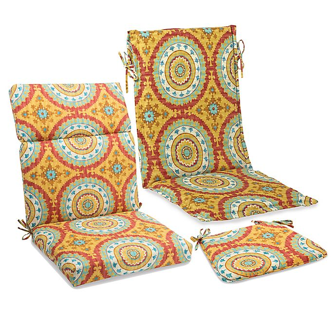 Outdoor Cushions And Pillows In Sunset Red Bed Bath Beyond
