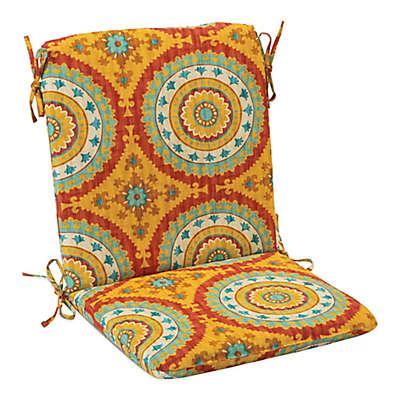 Print Indoor/Outdoor Mid Back Cushion