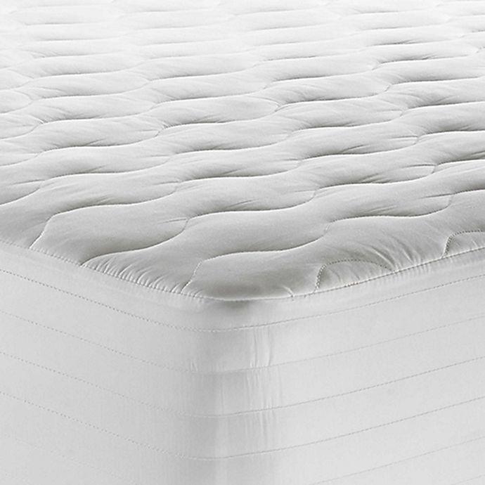 Alternate image 1 for Therapedic® 250-Thread-Count Waterproof Twin XL Mattress Pad