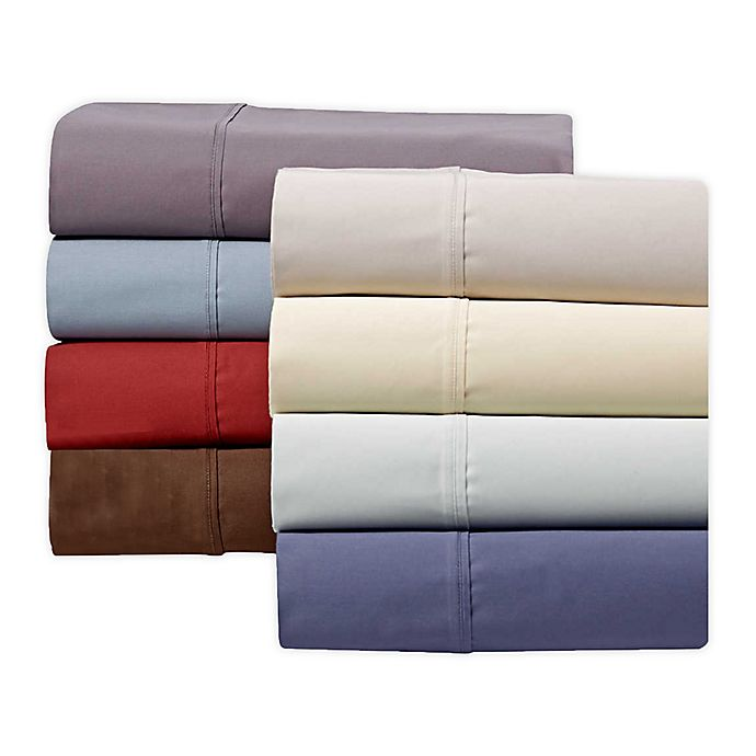 Alternate image 1 for Wamsutta® 625-Thread-Count PimaCott® Twin XL Sheet Set