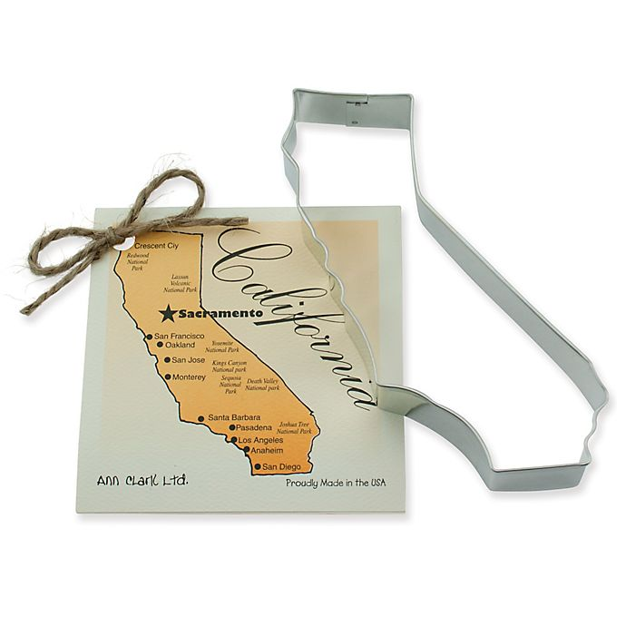 Alternate image 1 for Ann Clark State of California Cookie Cutter