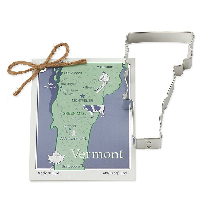 Alternate image 1 for Ann Clark State of Vermont Cookie Cutter