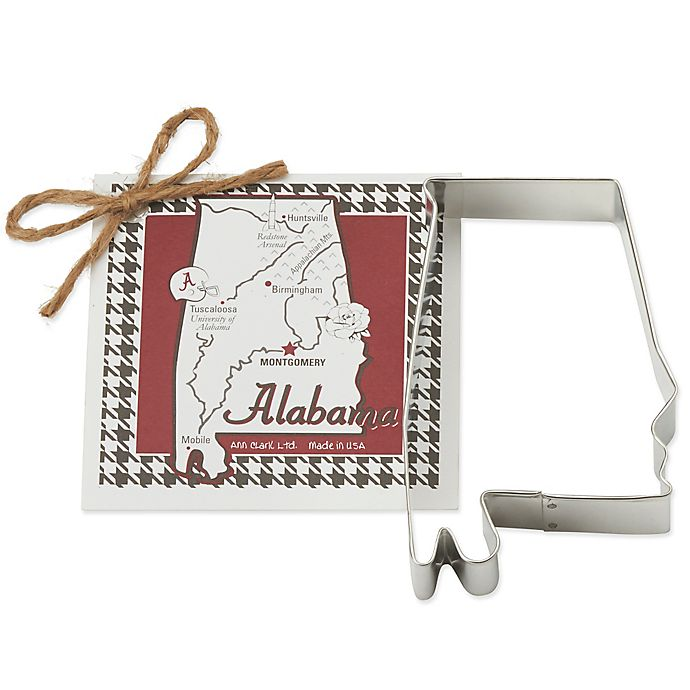 Alternate image 1 for Ann Clark State of Alabama Cookie Cutter