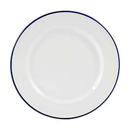 Everyday White® by Fitz and Floyd® Blue Rim Dinner Plate