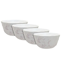 Dena™ Home Pavillion Soup Bowls in White (Set of 4)
