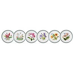 Portmeirion® Exotic Botanic Garden Assorted Salad Plates (Set of 6)