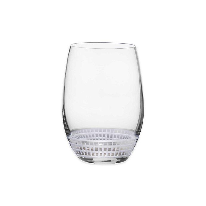 Alternate image 1 for Mikasa® Talia Platinum Stemless Wine Glass